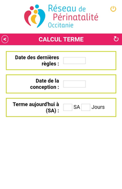 Terme application mobile
